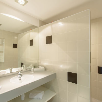 Hotel Restaurant Le Chatard Sarcey Salle de bain