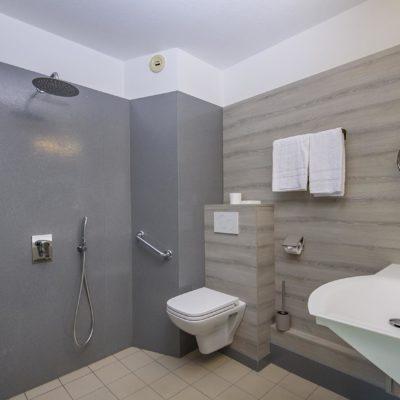 Hotel Restaurant Le Chatard Sarcey Salle de bain-personnes à mobilité réduite