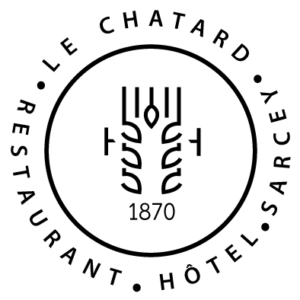 Logo-Hotel-restaurant-Le-Chatard-Sarcey-Totem-Noir