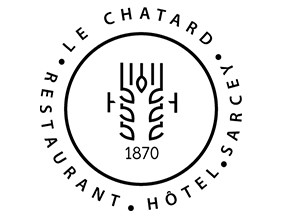Logo-Hotel-restaurant-Le-Chatard-Sarcey-Totem-Noir-rectangle